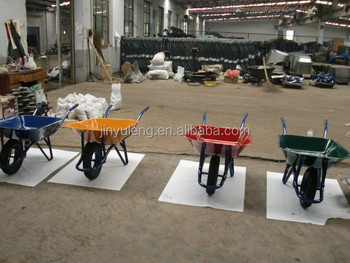 WB6400 popular matel Building cement sand china cheap wheel barrow For sale
