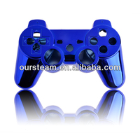 Various Color hot sell Custom complete Chrome shell/housing/cover For PS3 controller full set