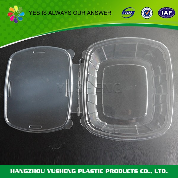 Light weight transparent disposable meal prep food container,plastic food container