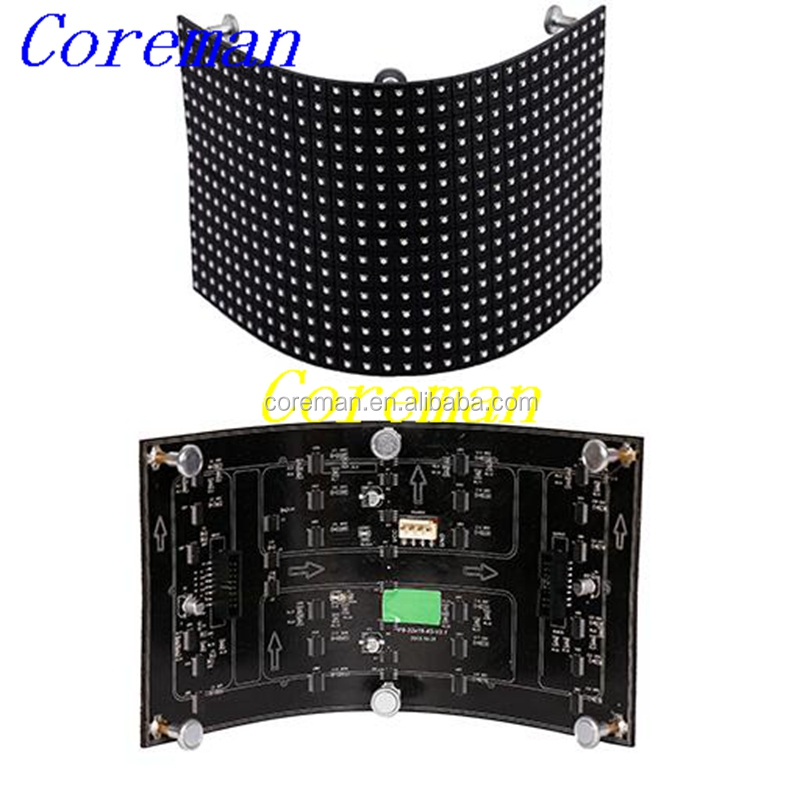 custom shape smd soft led module p6 outdoor led panel 360 degree curve round p2 p3 p4 p5 p6 p7 p8 p10
