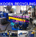 pet pelletizing granulation production machine