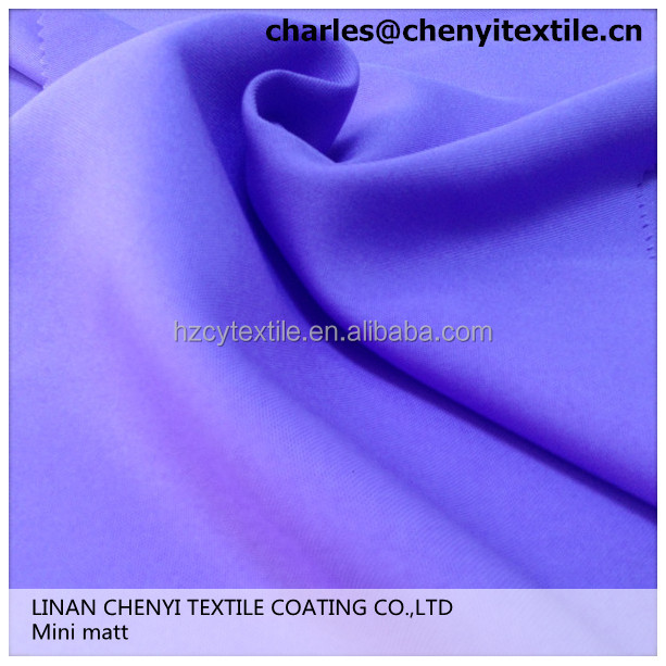 china latest oxford fabric 100% polyester Mini matt fabric