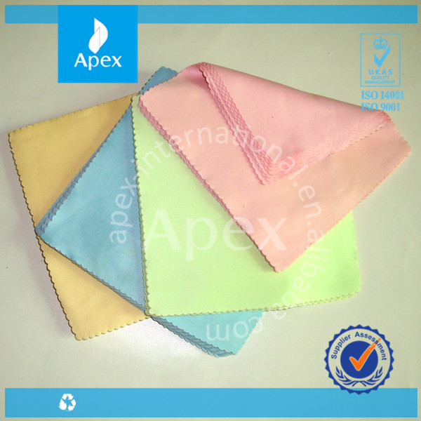 Custom Print Digital Product Microfiber Cleaning Cloth