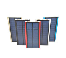 2015 Wholesale 5000mAH waterproof portable solar cell charger