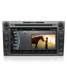 8 Inch HD Touch Screen Car In-Dash DVD Player GPS Navigation+Bluetooth+Radio+Multimedia System 2 Din Car PC Stereo Head Unit