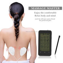 12 Mode Digital TENS/EMS Full Body Massager Unit Touch Screen Therapy Device