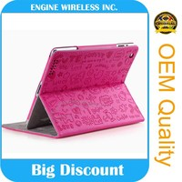2016 china product tablet cover for ipad air 1/2 leather case