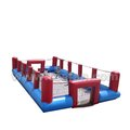 Giant inflatable foosball pitch inflatable human foosball A6065