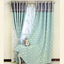 top high quality blackout Plain solid color window curtains