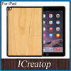 Original Natural Real Wood case for iPad,wallet leather case for ipad mini 3 4 ,for ipad skin real wood remax leather case