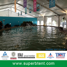 15*100m swimming pool cover tent