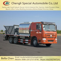 8000L Asphalt Bitumen Tank, 12000L Gravel Tank, Good Synchronous Seal Car
