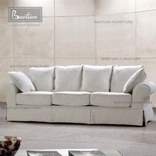 Living room furniture softtextile fabric sofa from Foshan furniture market