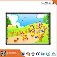 High efficiency infrared lcd touch screen interactive whiteboard for school use