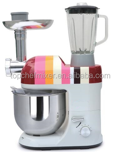China products prices 800 W 5L 6 Speed cake mixer price electric food mixer