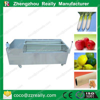 Stainless steel dried ginger process machines /ginger dehydrator machine/ginger washer and peeler