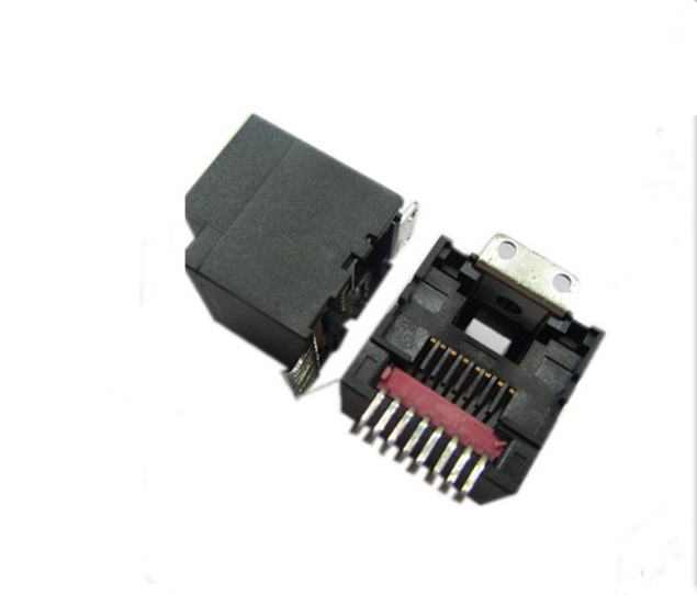 ROHS&REACH compliance 8P8C SMT RJ45 connector with ear