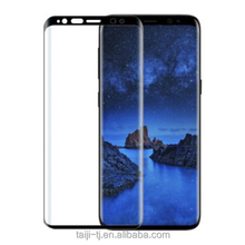 Tempered glass screen protector, full adhesive glue 3D glass screen protector for Samsung galaxy S9, S9 Plus