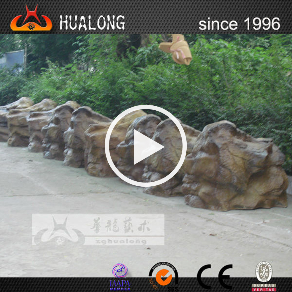 Resin Carving Artificial Rock for Theme Park Decoration