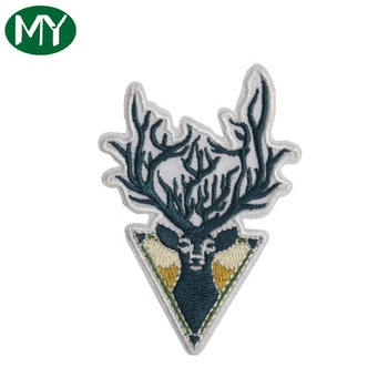 New style wolf pattern Toothbrush embroidery patch for costume