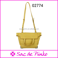 Good quality casual pu leather ladies hand made bags