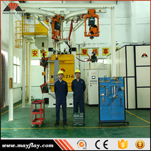 Factory Manufacturing Hot Sale High Speed Auto Shot Blasting Machine With Siemens PLC