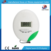 Hot sale ABS material spinning bike digital distance meter