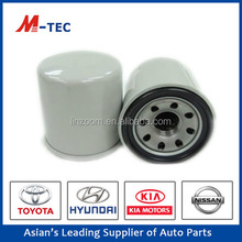 High efficiency hot sale doosan oil filter 15208-W1191 for Japan car