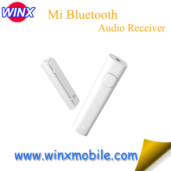 Original for Xiaomi Bluetooth 4.2 Audio Receiver Wireless Adapter 3.5mm Jack AUX Audio Music Car Kit Speaker Headphone