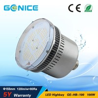E40 high bay LED retrofit kits, green energy led high bay light 100w,100w led bulb with Mean Well driver