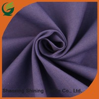 new china supply wholesale woven shirt poplin dyed cotton fabric
