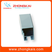 T3-T8 Temper And Is Alloy White Powder Coated Aluminum Extruded Sliding Door Profile