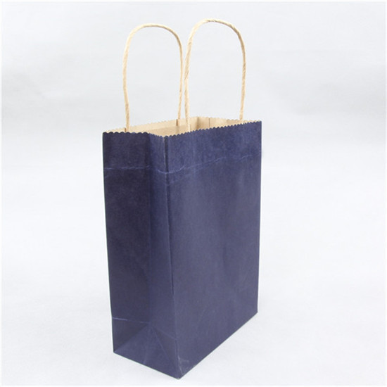 High-grade paper gift bag withpaper gift bag with drawstring bow