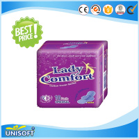 unisoft hot sale sanitary napkins pad TOP2