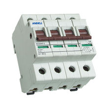 AH7 Isolating Switch 4 pole 125amp 400/415V mcb