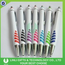Promotional Logo Advertising Retractable Plastic Pen