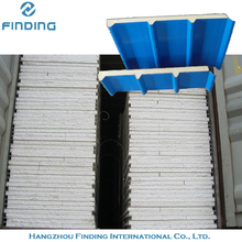 insulated roof panels sandwich panel factory low price keep warm insulated aluminum sandwich panel