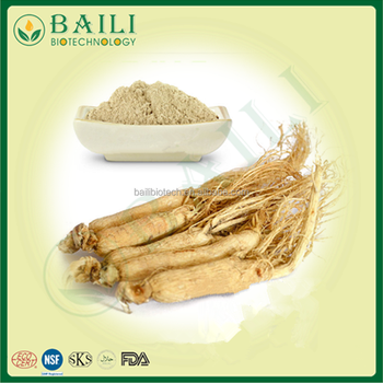 China supplier rootstcks Ginseng extract power immune&anti-fatigue