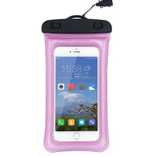 2018 High Quality 4.5-6 Inch OEM Available IPX8 Inflatable Waterproof Case for Hand Phone