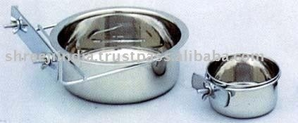 Stainless Steel Coop Cup with Nut Clamp