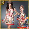 2016 hot selling family clothes OEM wholesale mommy and me dress