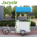 Pedal or Electric hot sale soft serve ice cream cart
