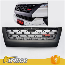 Sport Genuine New Fortuner 2016 Matt Black Abs Plastic Front Grille for TRD