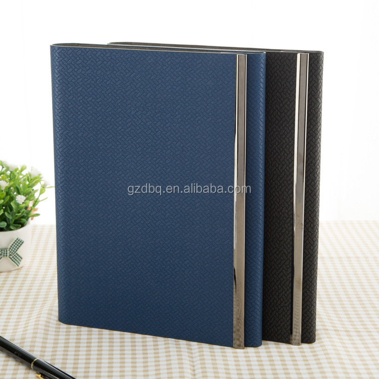 High Quality Genuine Leather Factory Luxury Vintage Journal Notebook