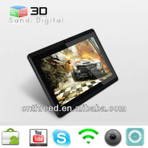 tablet android 7inch tablet pc allwinner A13 laptop ultrathin Android4.4
