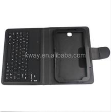 Removable Bluetooth Keyboard Leather Case For Samsung Galaxy Tab 3 8.0 T310 T311 7.0 T210