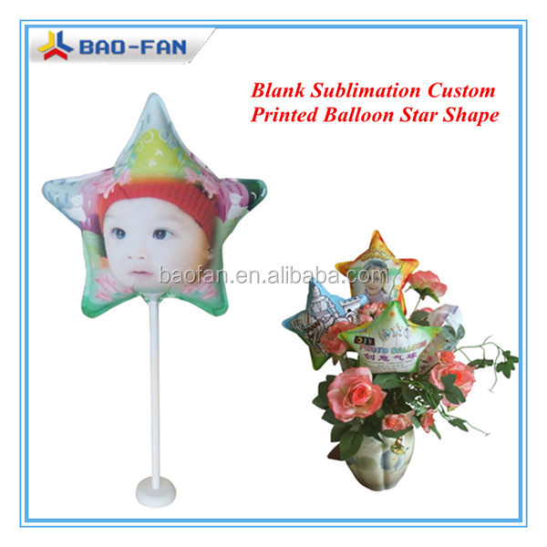 Sublimation Ballon Blank Sublimation Costom Photo Printed Festival Chrimas Ballon DIY Gift