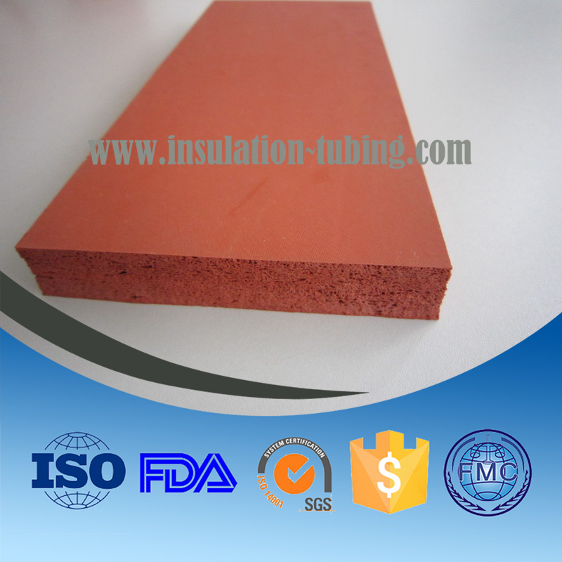 Vibration Silicone Rubber Pad Silicone Foam Plate Or Sheet