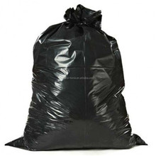 3 Mil 38x58 Large heavy duty plastic black contractor trash bag garbage bag