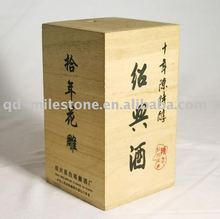MDF durable in use classic Wooden liquor packing box